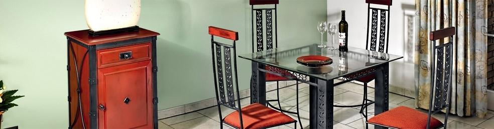 Кованая кухонная мебель