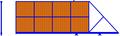 Откатные ворота. Профлист с 1-й стороны, цвет под дерево. Консоль незаполненная.