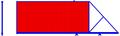 Откатные ворота. Профлист с 1-й стороны, цвет стандартный. Консоль незаполненная.