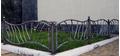 Кованый забор для клумб