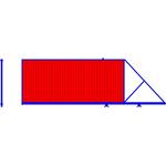 Откатные ворота. Профлист с 2-х сторон, цвет стандартный. Консоль незаполненная.