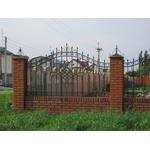 Металлический кованый забор под заказ