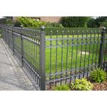 Забор секционный из прокатного металла