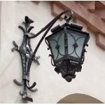 Кованый фонарь на стену