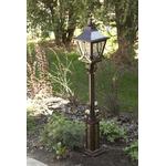 Металлический садовый кованый фонарь для сада