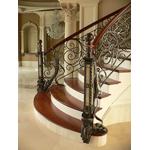 Кованые элитные перила для лестниц