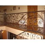 Перила для лестницы со сложным кружевным узором